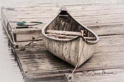 Docked Canoe July 2018