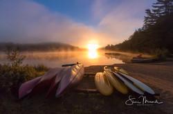 Sunrise on Devine Lake August 2018