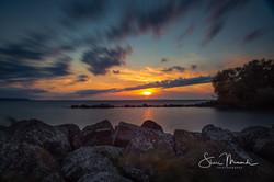 Gros Cap Sunset September 17, 2018