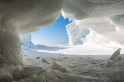 Ice Cave on Superior