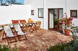 Terraza - Suite Jardín