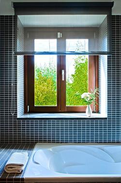 ventana al jardin - baño hab. 3