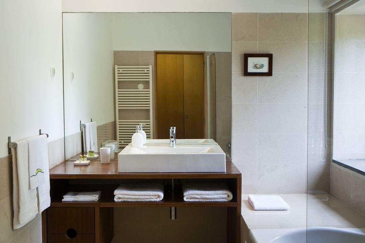 Baño privado de la Suite Jardín