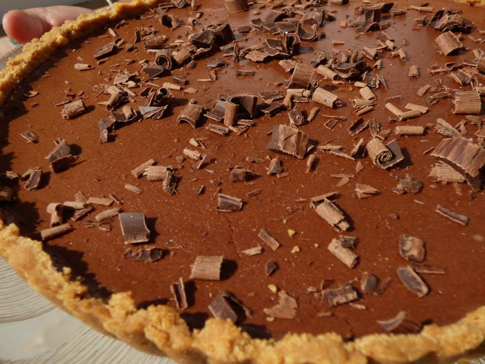 Mus de chocolate asada