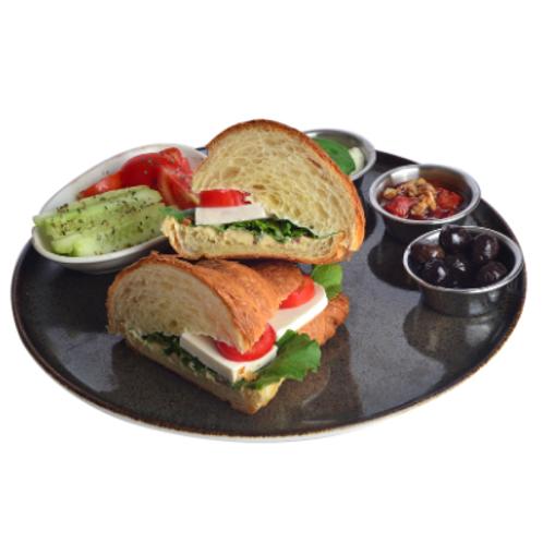 Peynirli Kruvasan Sandviç
