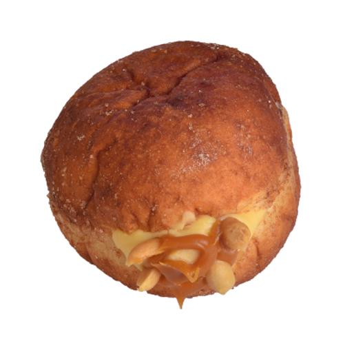 Karamelli Yer Fıstıklı Donut
