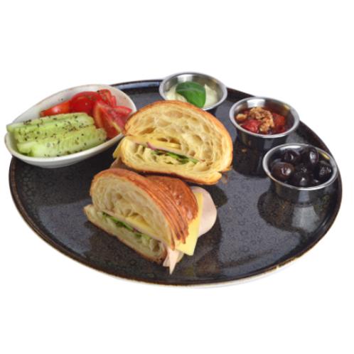 Füme Hindi Kruvasan Sandviç