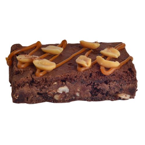 Karamel Yer Fıstıklı Brownie