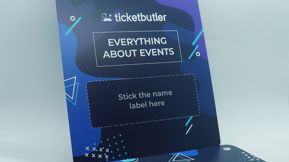 Conference & event cards