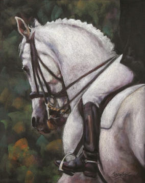 Noble  Pastel Painting