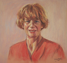 Portrait of a Lady in pastels