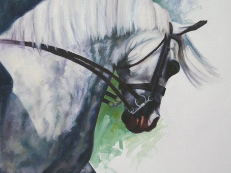 Exhibiting with the Society of Equestrian Artists