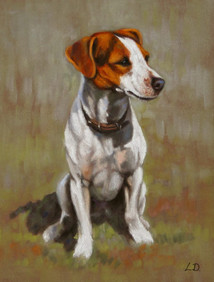 Jack Russell Pastel Painting