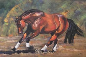 Forward Bound - Pastel Dressage Horse