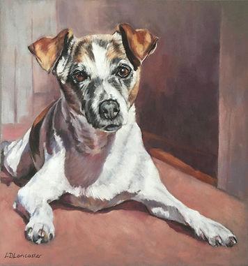 Jack Russell Terrier Pastel Painting