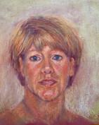 Blonde Lady Portrait Painting