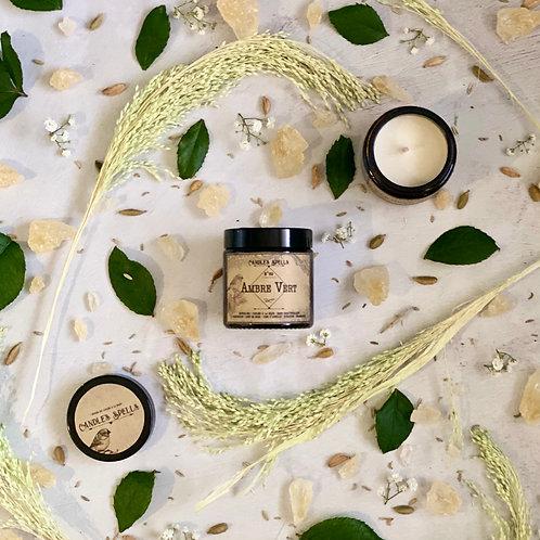 Bougie Parfumée Ambre Vert