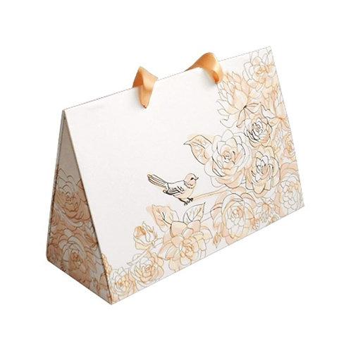Coffret Sac Cadeau pour 3 Bougies Parfumés