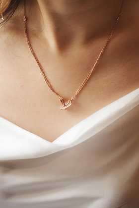 1+1 L o v e necklace