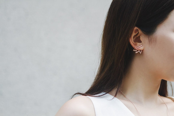 Less is more collection FLY earrings