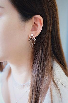 Rain stars earrings