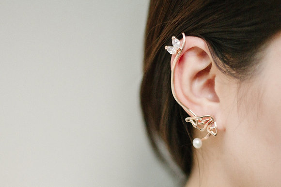Butterflymoon collection fairy ear cuff