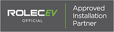 Rolec EV Official Installer Badge - Grey