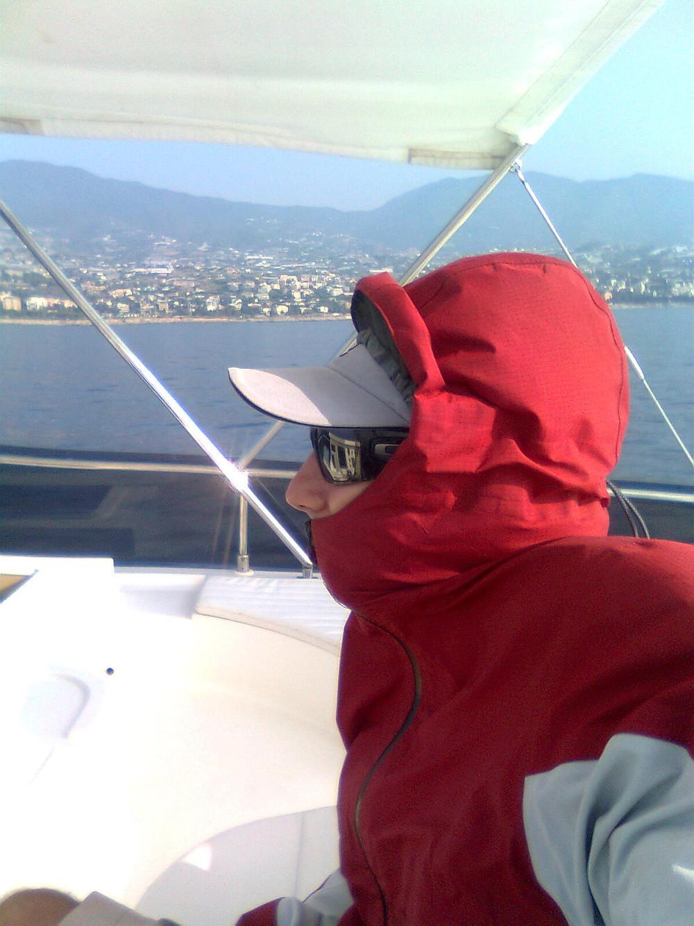 Delivering in the Mediterranean sea