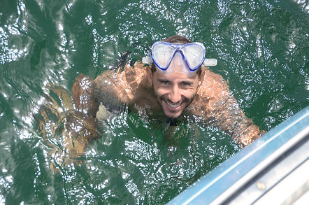 snorkeling trinidad go west yacht