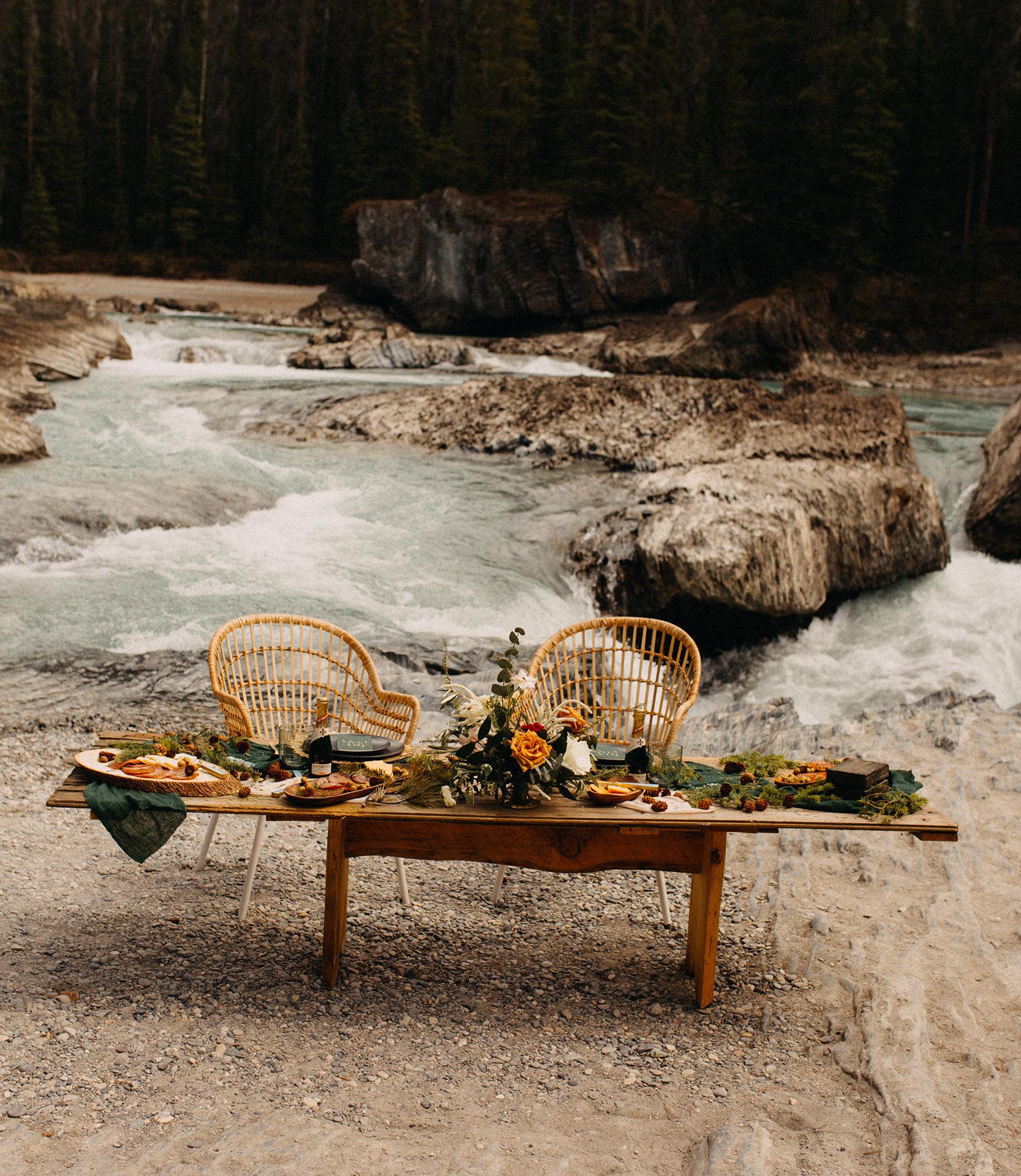 Sweetheart Table Setting