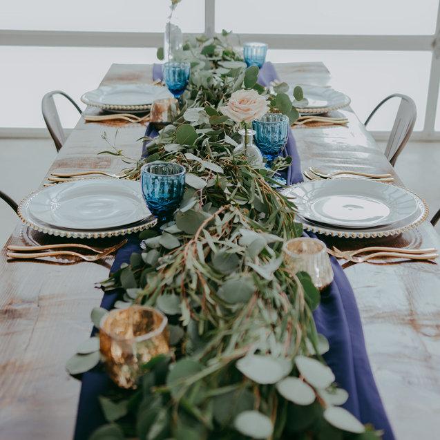 Wedding Table Calligraphy