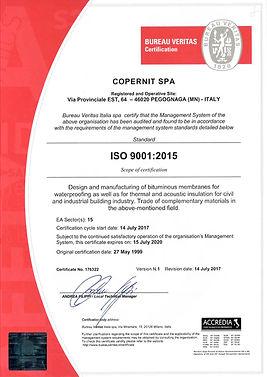 certificado calidad copernit