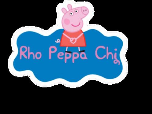 Rho Peppa Chi Sticker