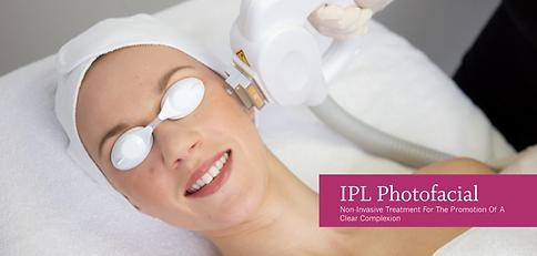 IPL photorejuvenation, Photafacial