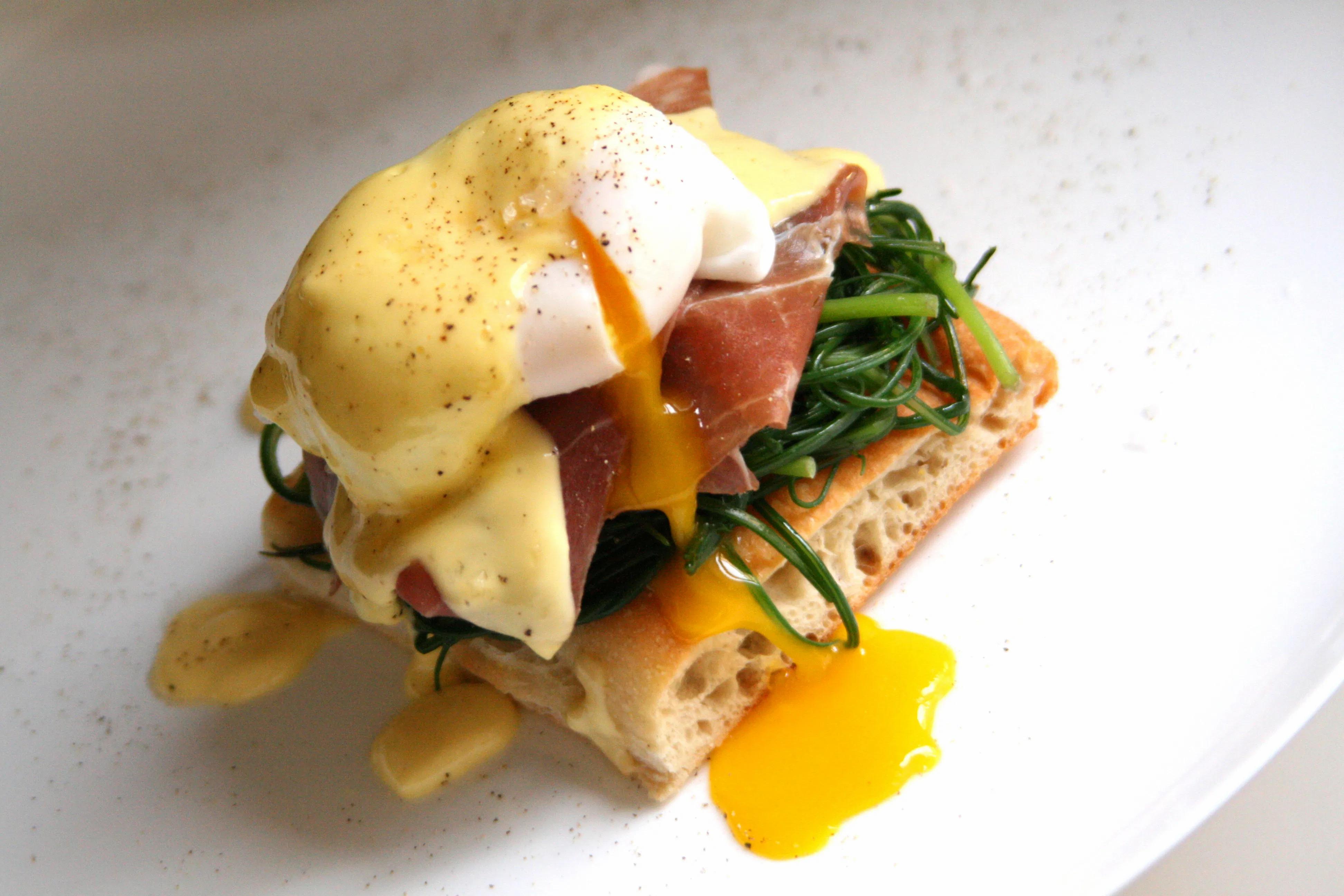 Italian Eggs Benedict