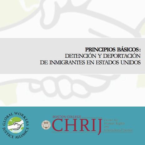 Principios Básicos Sobre Detención y Deportación de Inmigrantes en EEUU