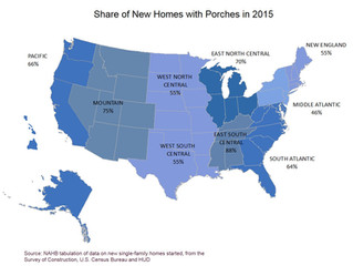 Porches are Pushing out Decks in Popularity