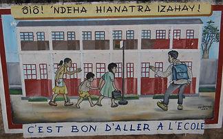 association madagascar écoles enfants pauvres, démunis
