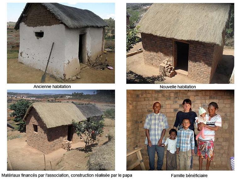 association madagascar, familles, habitation, dons,humanitaire, solidarité, projets,urgence, logement