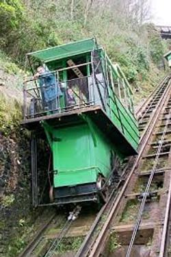 The Cliff Railway in Lynton