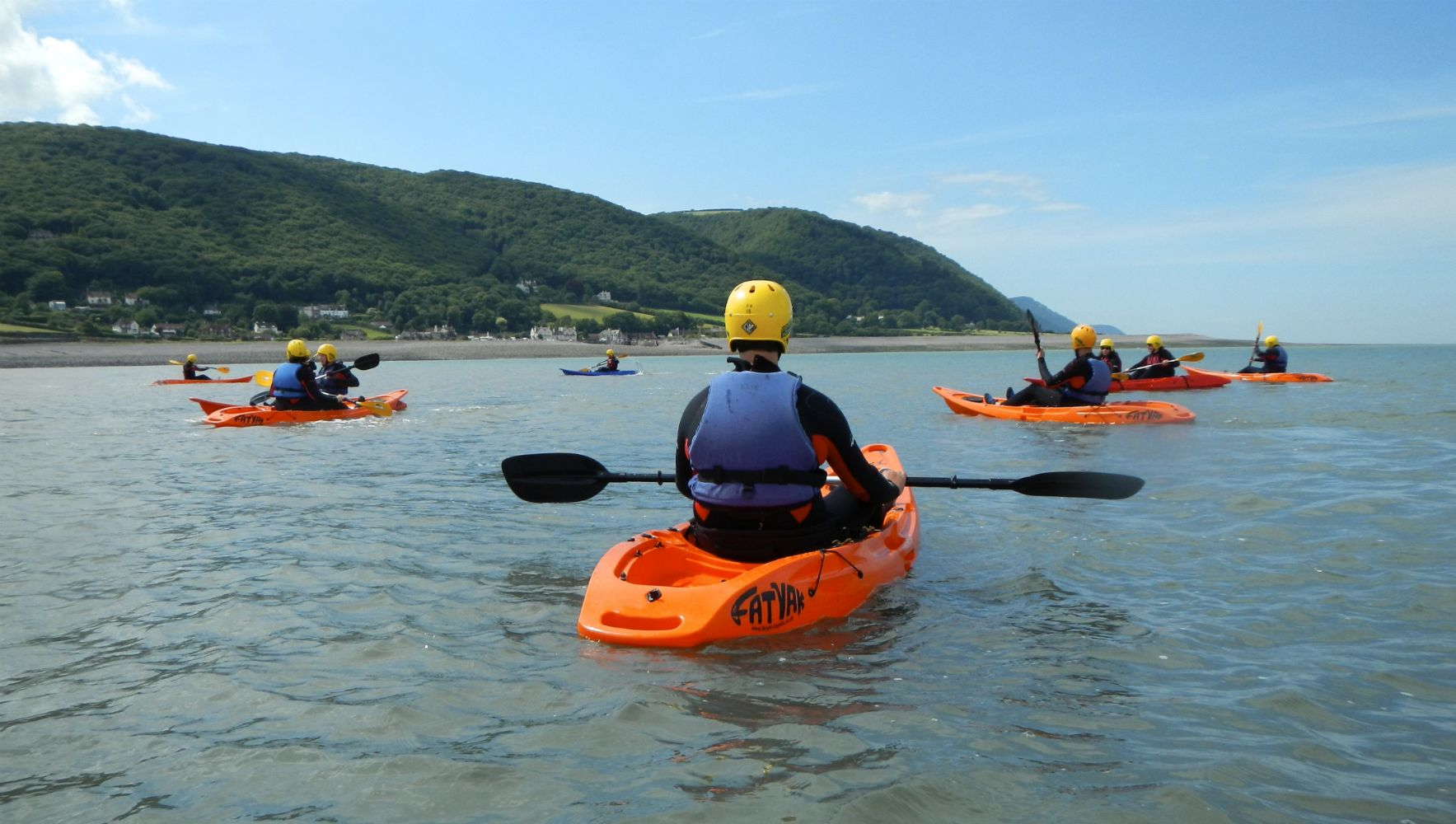 Kayaking in Porlock