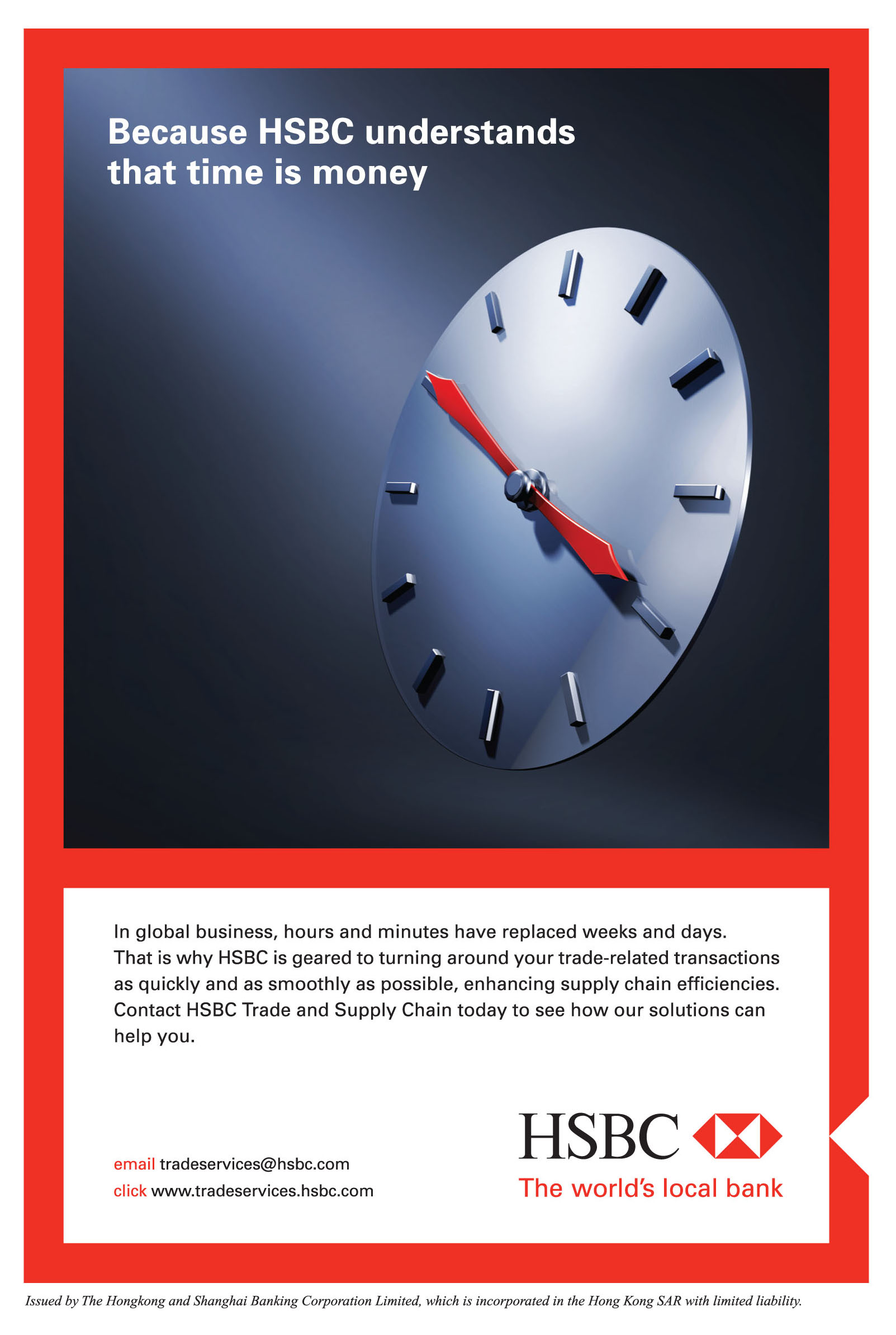 Portfolio HSBC | english copywriter hong kong