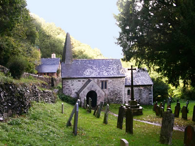 Culbone Church is a 'must see'!