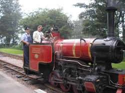 The Lynton to Barnstaple train