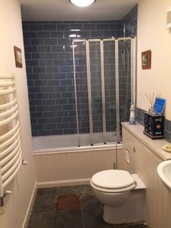 Modern Bathroom with bath & shower