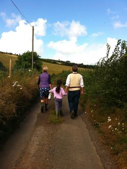 Strolls to hikes to treks...