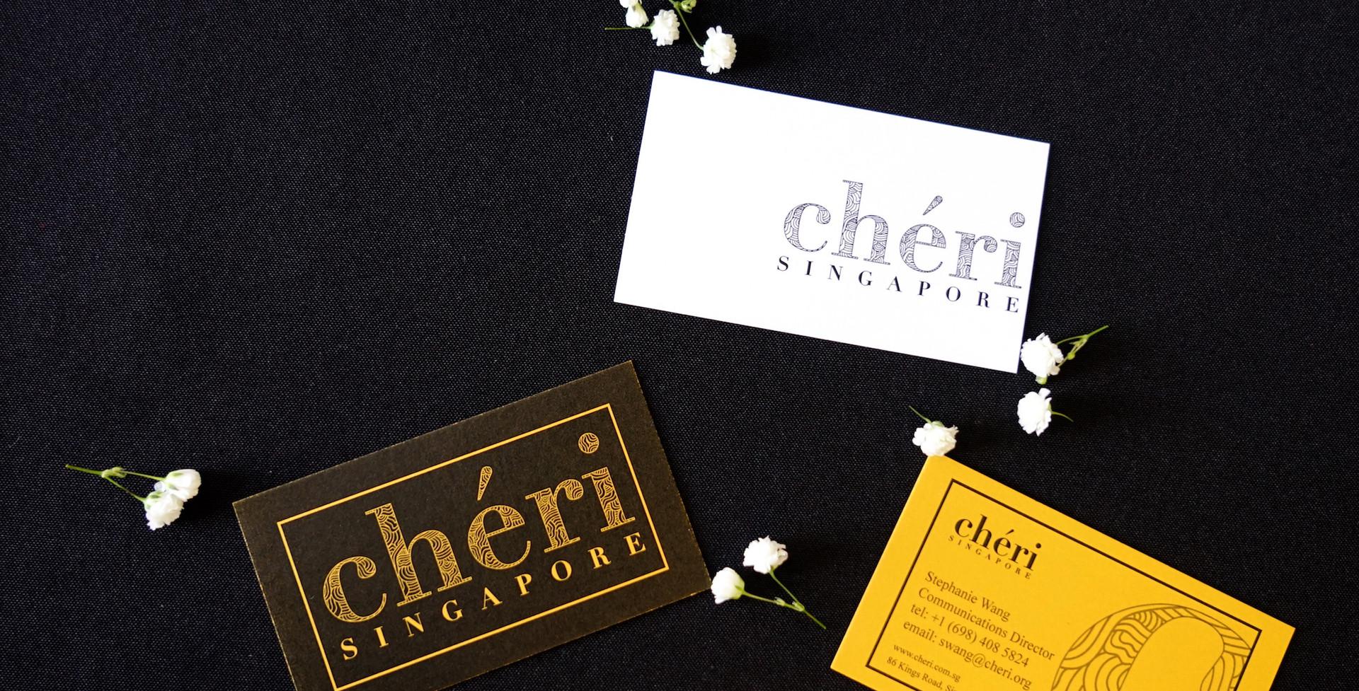cheri employee business cards