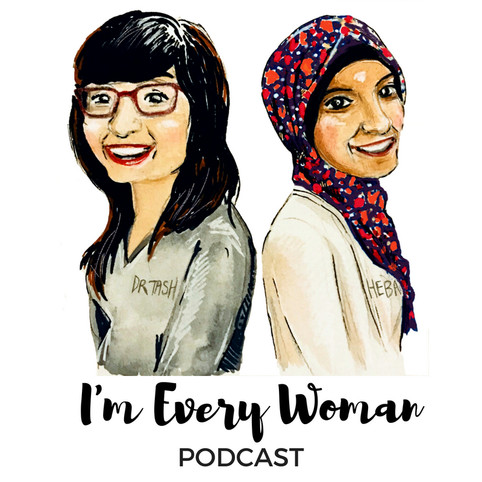 I am Every Woman podcast logo