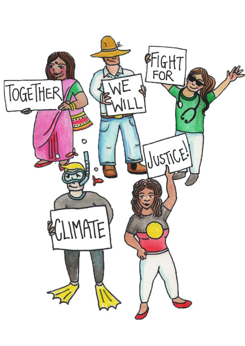 Together we will fight for Climate Justice