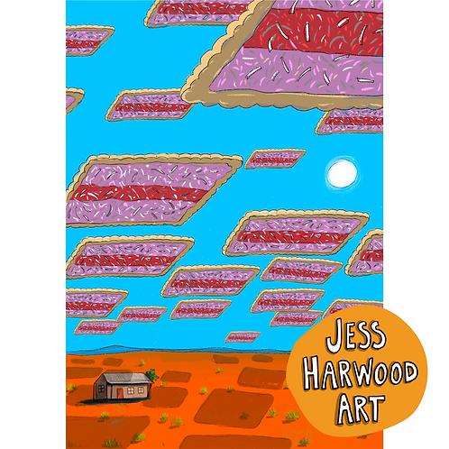 Iced Vovo Space Invasion Fine Art Print